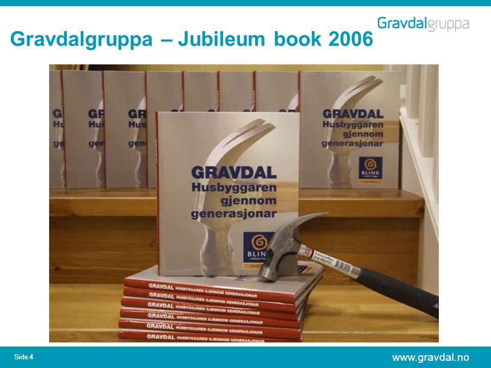 www.gravdal.no Side 4 Gravdalgruppa – Jubileum book 2006