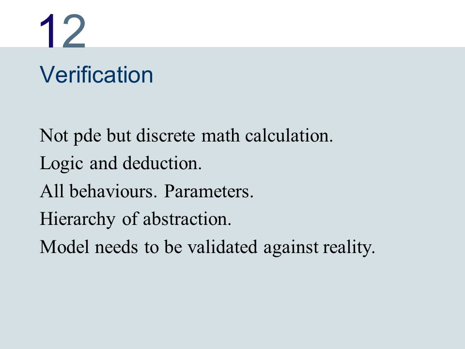 1212 Verification Not pde but discrete math calculation.