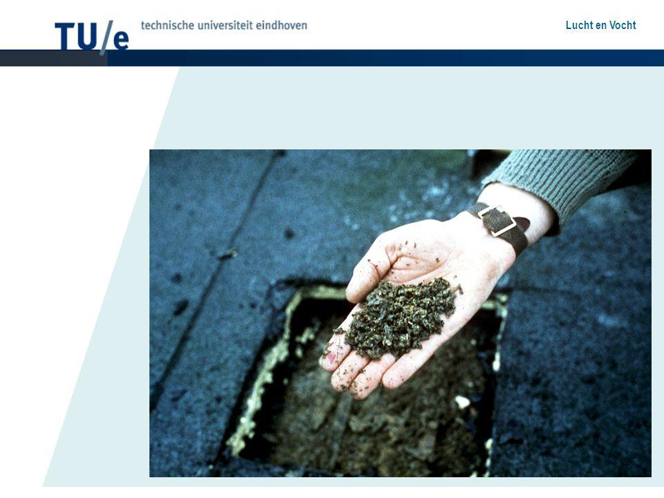 Damptransport Poreuze materialen en vochttransport Damptransport door diffusie –Waterdampgeleidingscoëfficiënt –Dampdiffusieweerstand –Glaser-methode –Dampremmende lagen