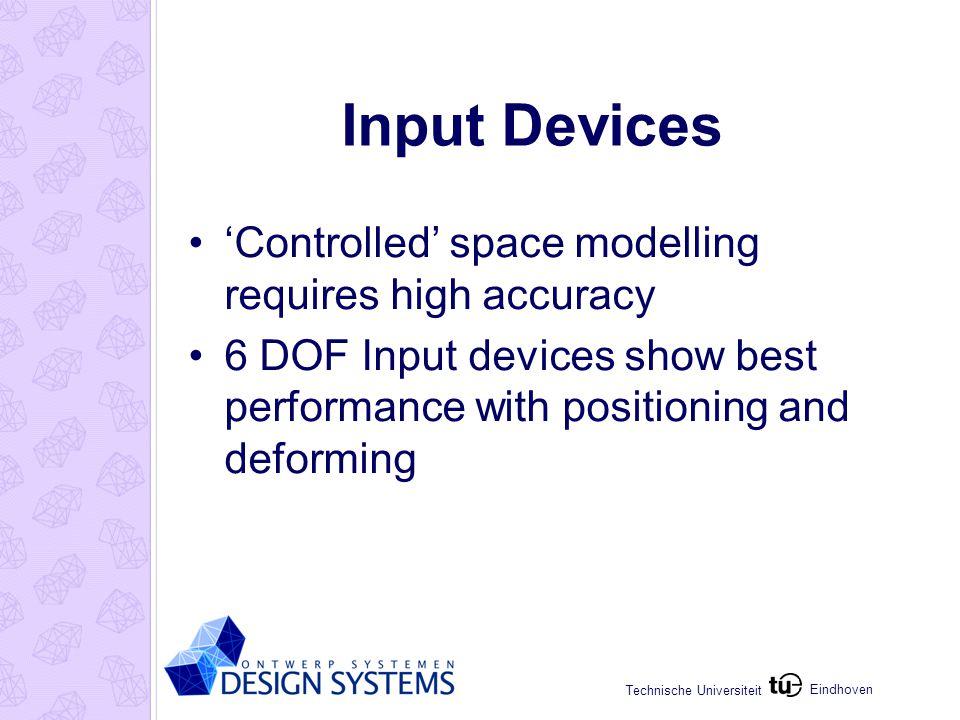 Eindhoven Technische Universiteit Improvements & Extensions Interpret operations: Representation: Box mesh or Param.