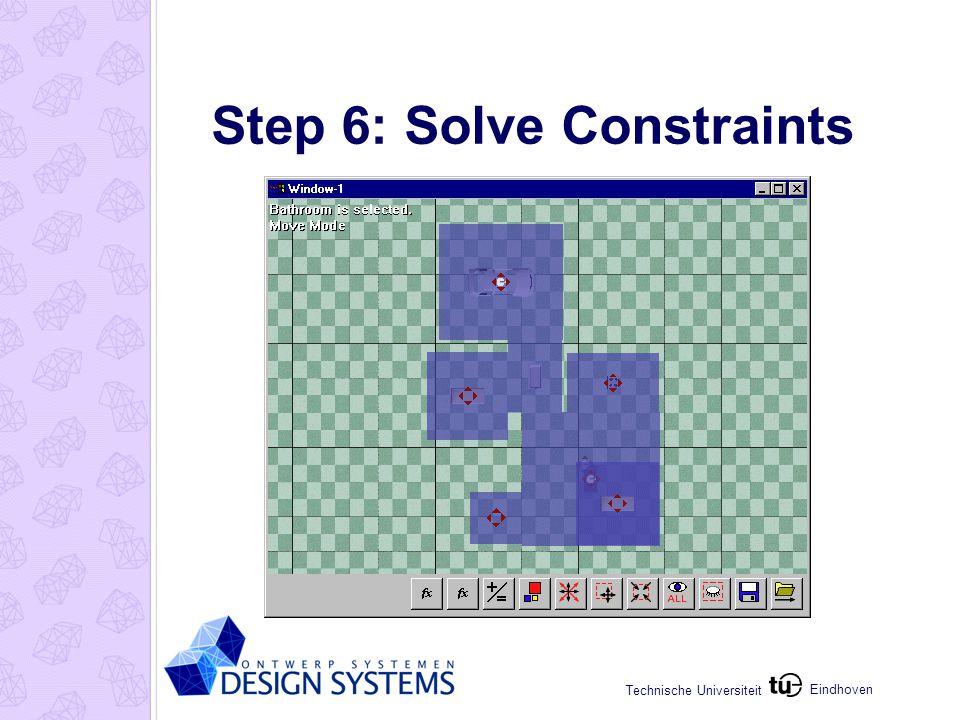 Eindhoven Technische Universiteit Step 6: Solve Constraints