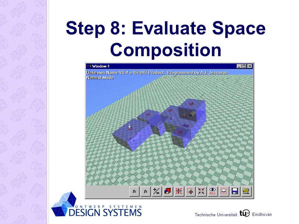 Eindhoven Technische Universiteit Step 8: Evaluate Space Composition