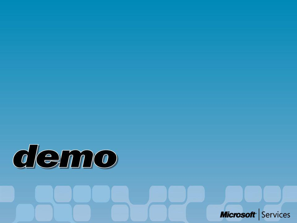 Scenario - details B R E BizTalk Orchestration BizTalk Orchestration Windows Sharepoint Services Windows Sharepoint Services E:\Demo\Test BAM 1 2 34 5 6 7 1..
