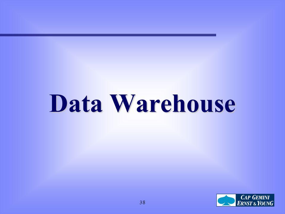 38 Data Warehouse