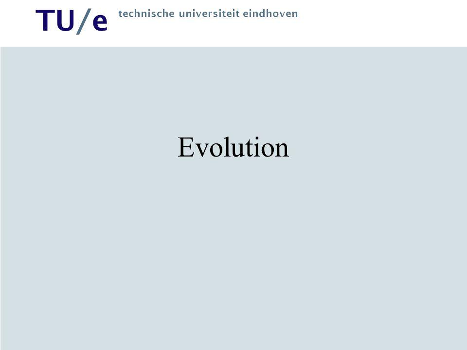 TU/e technische universiteit eindhoven Evolution