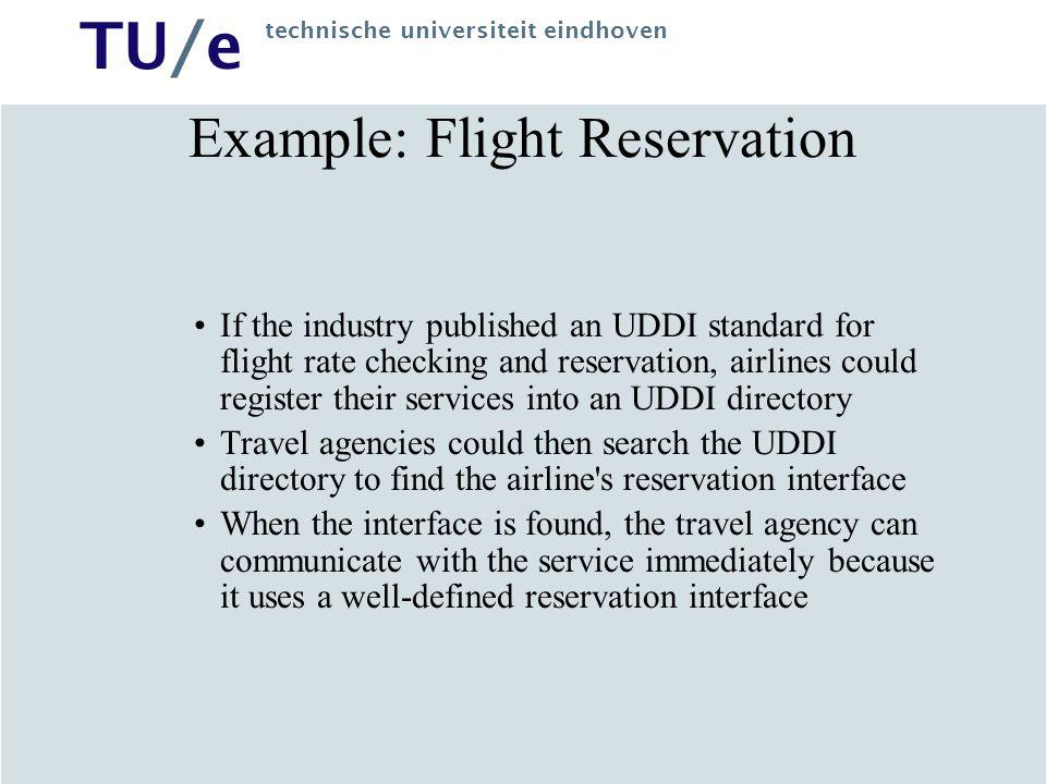 TU/e technische universiteit eindhoven Microsoft's UDDI uddi.microsoft.com Search of a Web Service: Xmethods Search Results