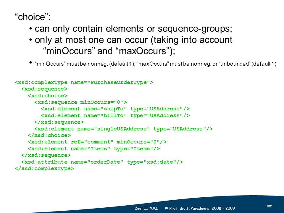 102 Deel II XML © Prof. dr. J.