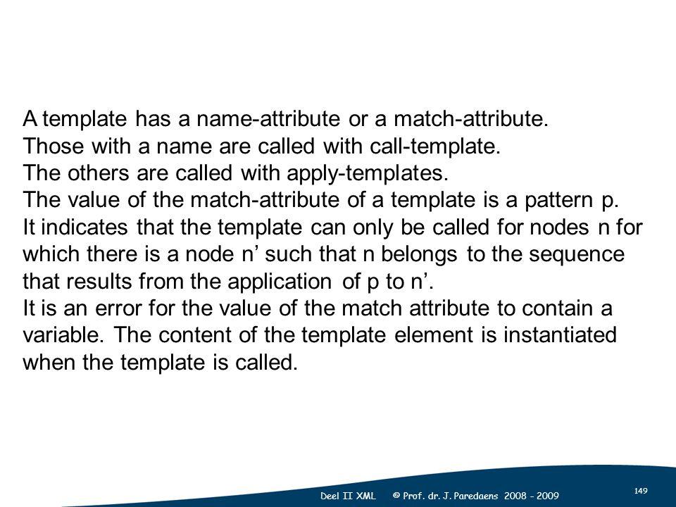 149 Deel II XML © Prof. dr. J.