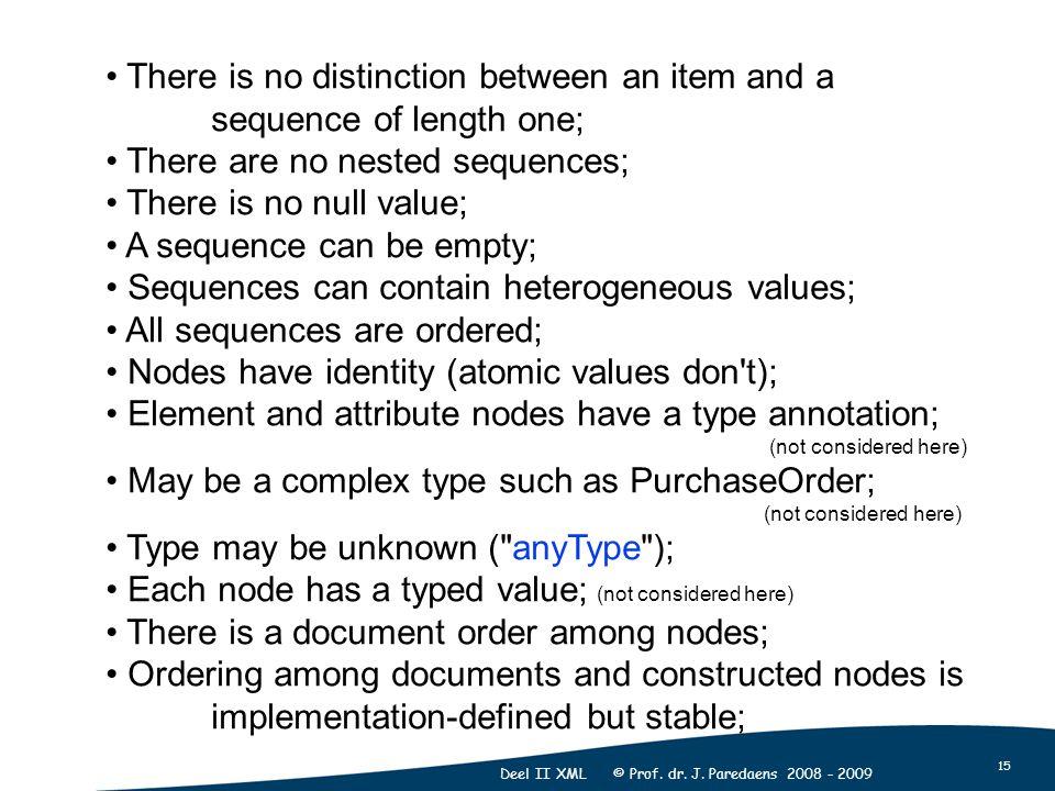 15 Deel II XML © Prof. dr. J.