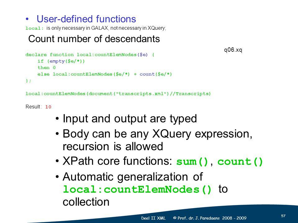 57 Deel II XML © Prof. dr. J.
