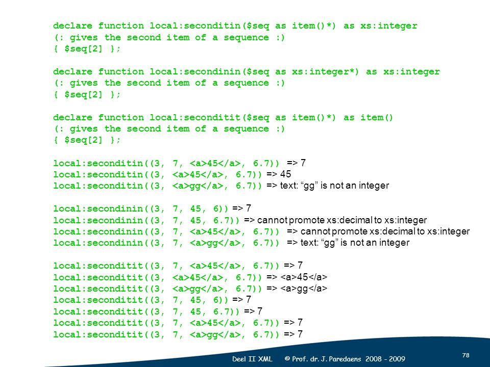 78 Deel II XML © Prof. dr. J.