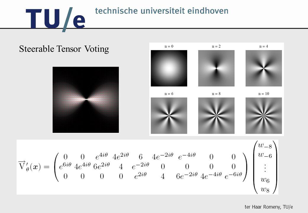 ter Haar Romeny, TU/e Steerable Tensor Voting