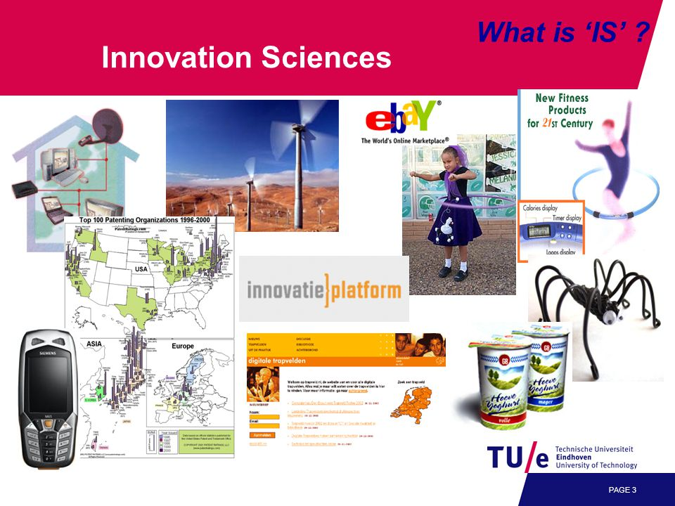 PAGE 3 What is 'IS' Innovation Sciences