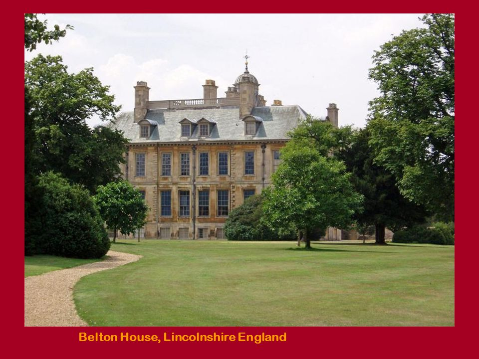 Belton House, Lavender garden