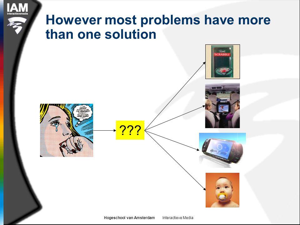 Hogeschool van Amsterdam Interactieve Media What is Integrated Marketing Communications.