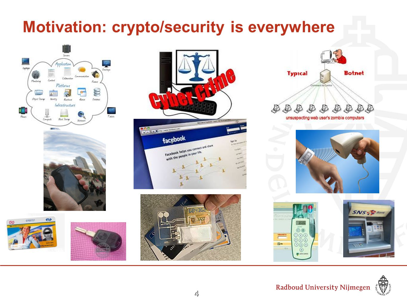4 Motivation: crypto/security is everywhere