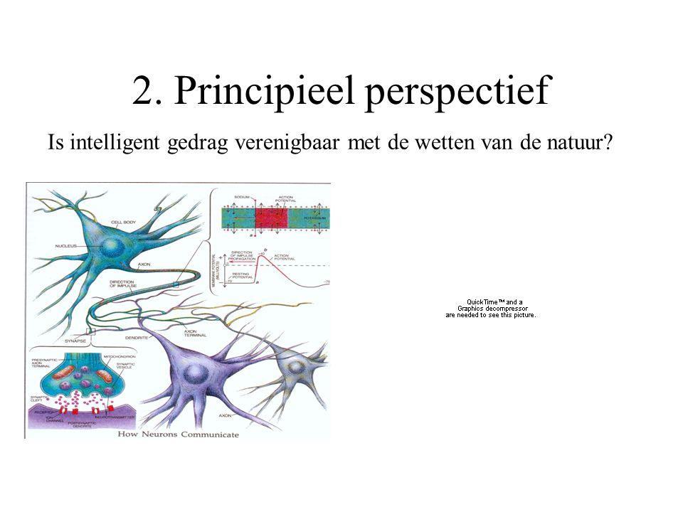 Is intelligent gedrag verenigbaar met de wetten van de natuur 2. Principieel perspectief