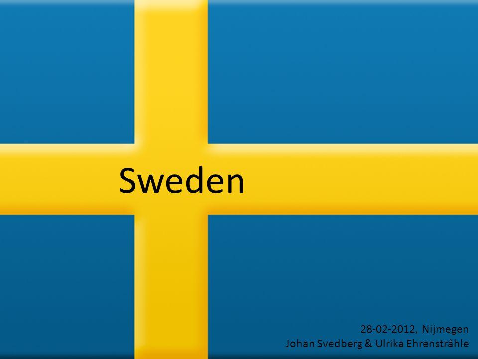 Sweden 28-02-2012, Nijmegen Johan Svedberg & Ulrika Ehrenstråhle