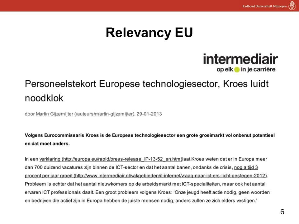 6 Relevancy EU