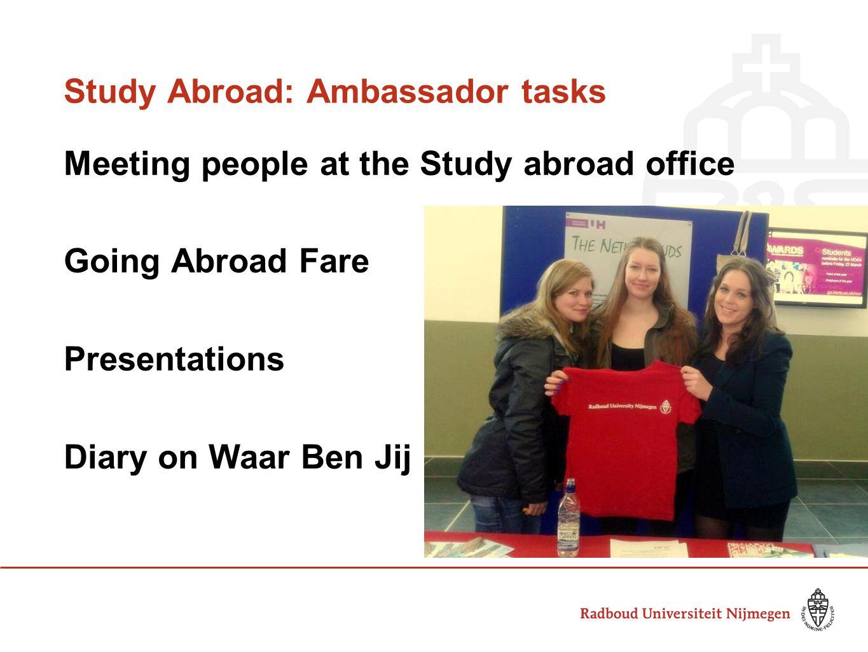 Wil Weg Week 2010 - Studie en stage in het buitenland The Forum & Batchwood Windsor Castle, Edinburgh Oxford, London Study Abroad: Trips & parties at UH