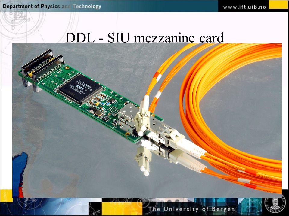 DDL - SIU mezzanine card