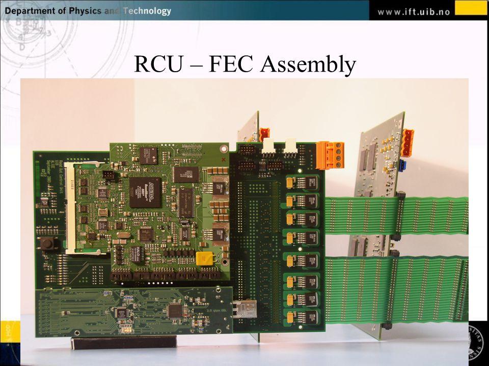 RCU – FEC Assembly