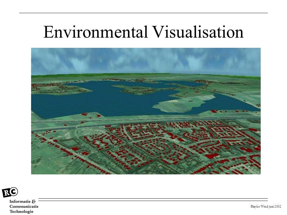 Hayko Wind juni 2002 Environmental Visualisation