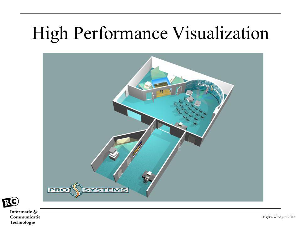 Hayko Wind juni 2002 High Performance Visualization