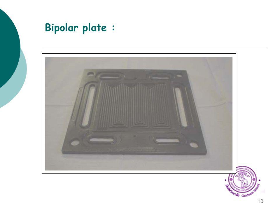 10 Bipolar plate :