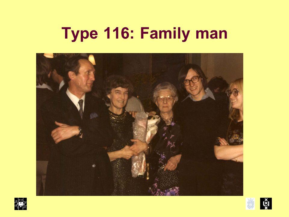 Type 116: Family man
