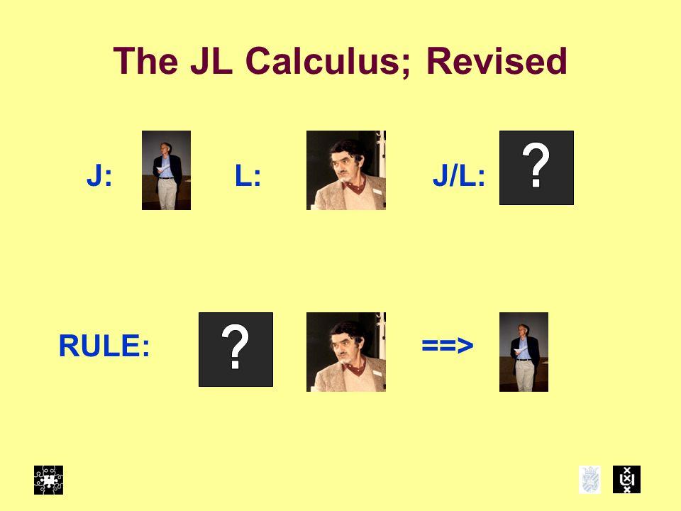 The JL Calculus; Revised L:J:J/L: RULE:==>