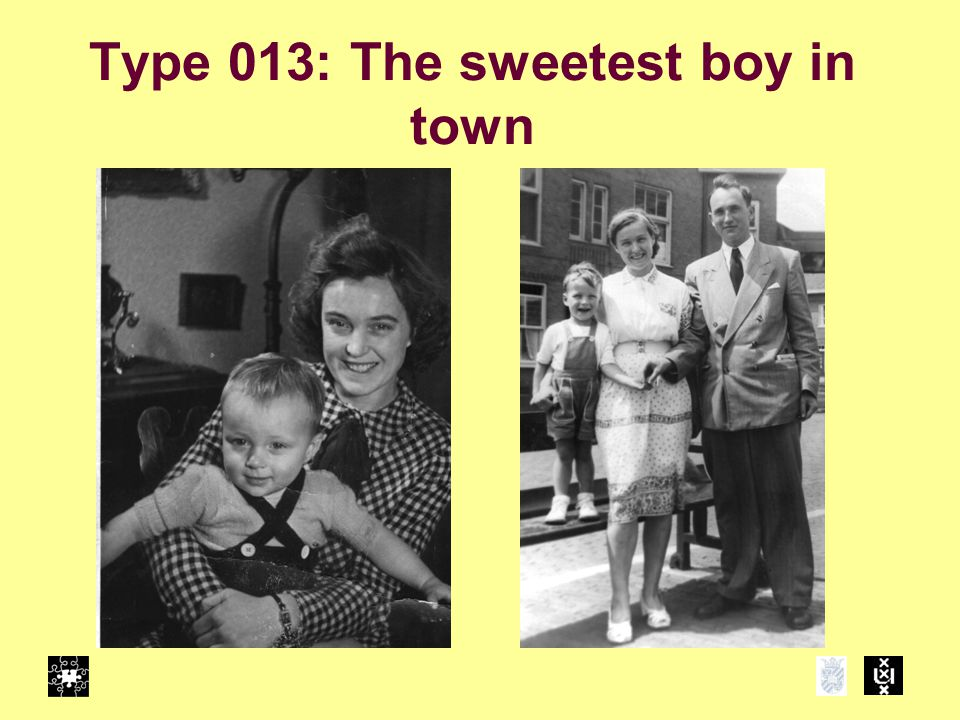 Type 013: The sweetest boy in town