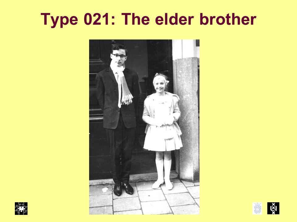 Type 021: The elder brother