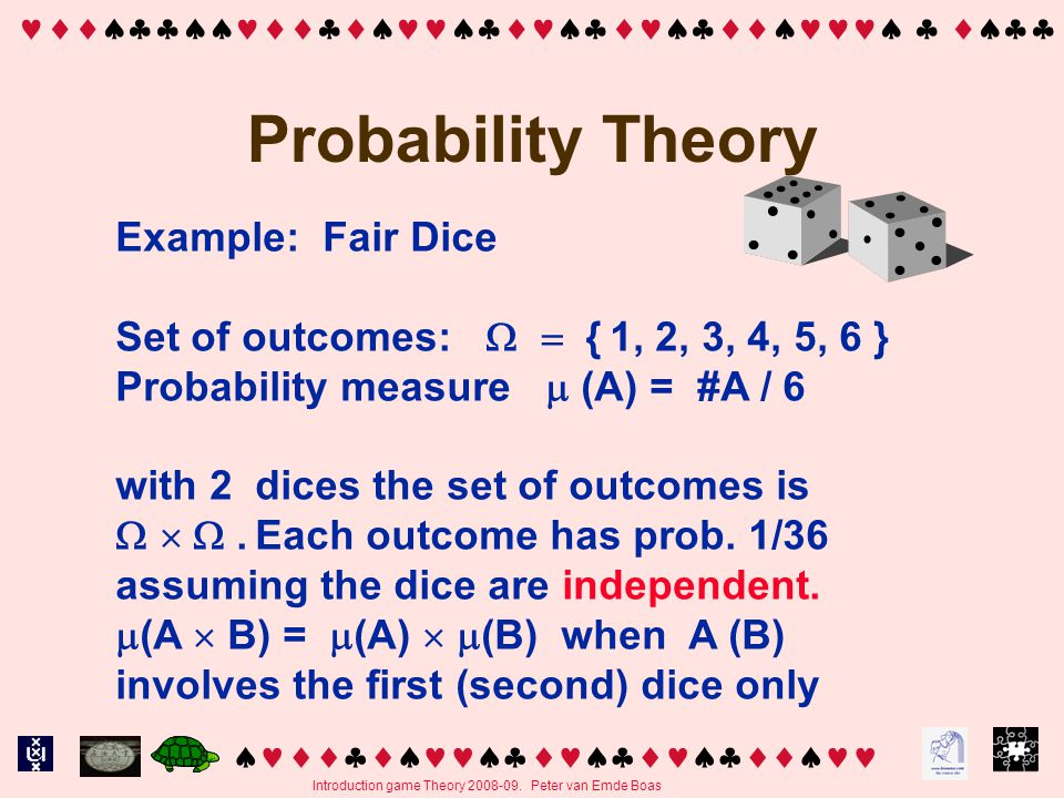   Introduction game Theory 2008-09.