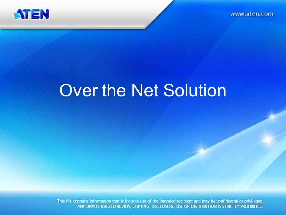 Power Over the NET Support KN4140v series PN0108 KVM access and PON control can be integrated in one interface.