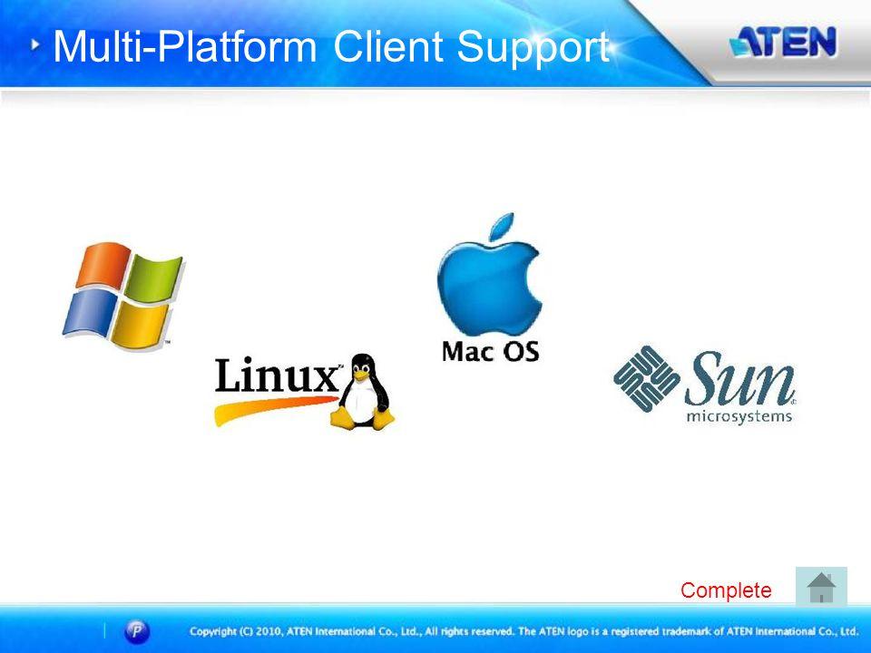 Multi-Platform Client Support Complete