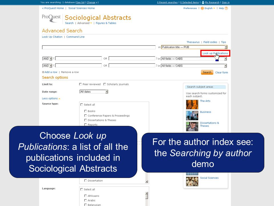 You are interested in 2 journals: Journal of Social Research and Journal of Social Sciences