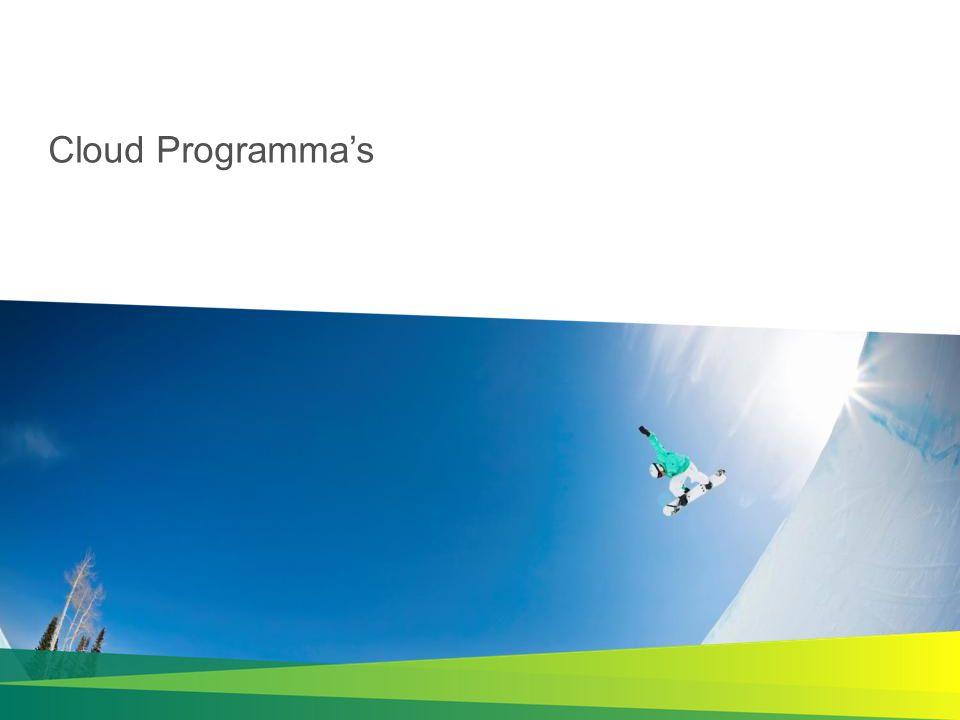 Cloud Programma's