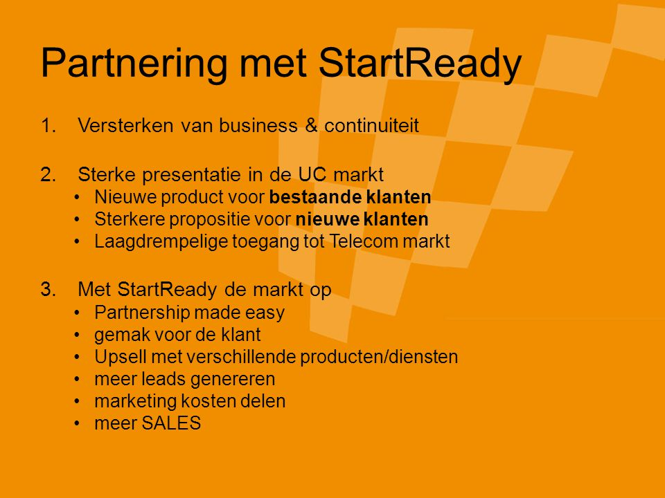 © 2007 StartReady Corporation.All rights reserved.