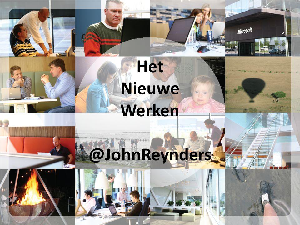 Het Nieuwe Werken @JohnReynders