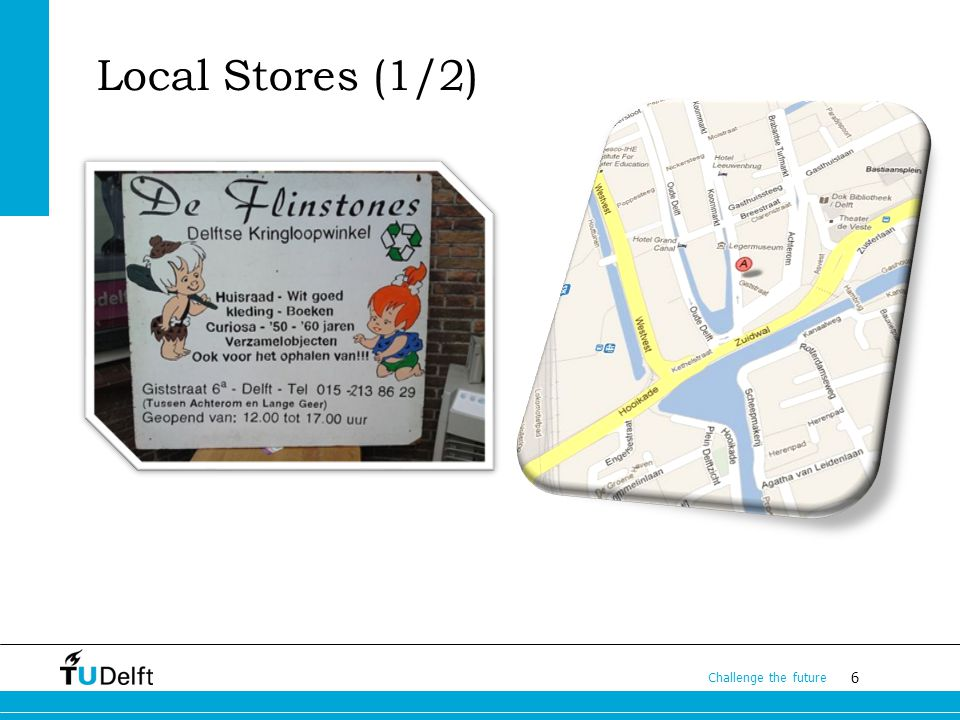 6 Challenge the future Local Stores (1/2)