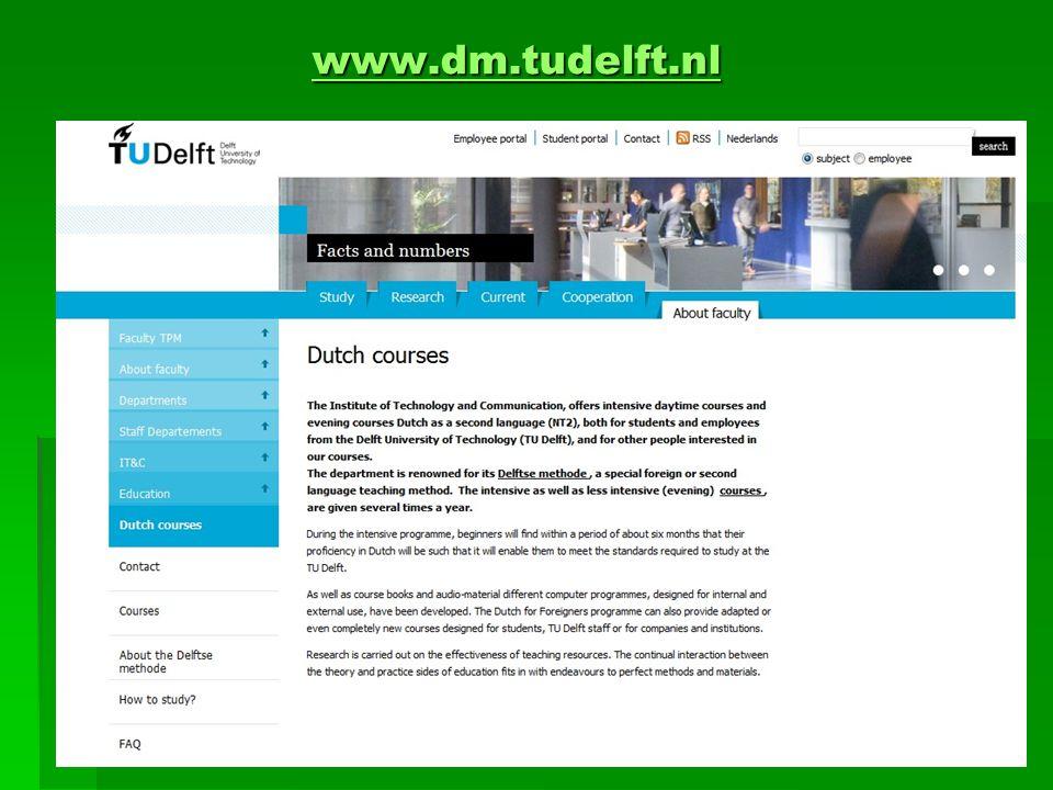www.dm.tudelft.nl www.dm.tudelft.nlwww.dm.tudelft.nl