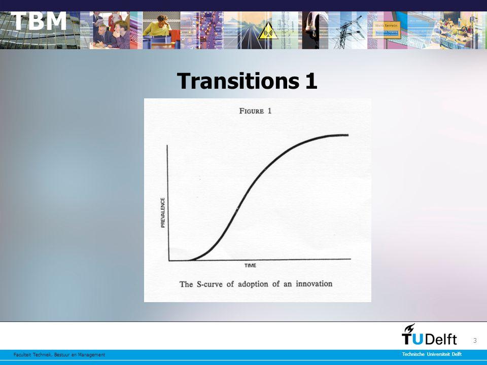 Faculteit Techniek, Bestuur en Management Technische Universiteit Delft 3 Transitions 1