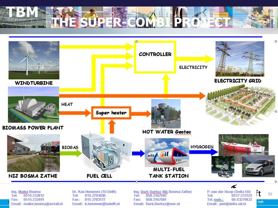 Faculteit Techniek, Bestuur en Management Technische Universiteit Delft 56 THE SUPER-COMBI PROJECT