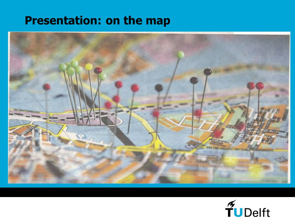 Presentation: on the map