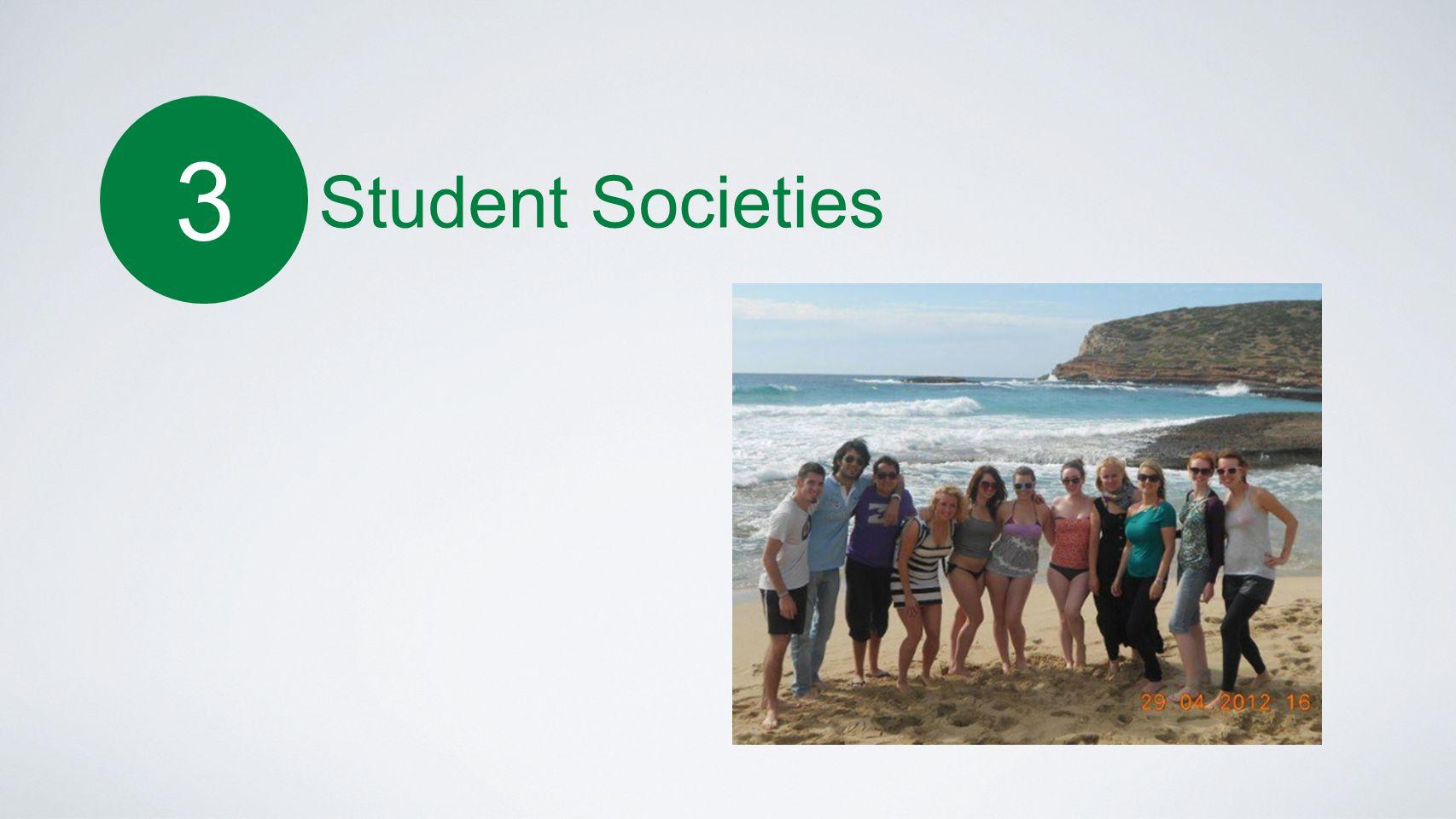 3 Student Societies