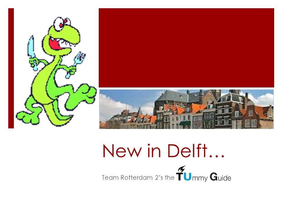 New in Delft… Team Rotterdam 2's the