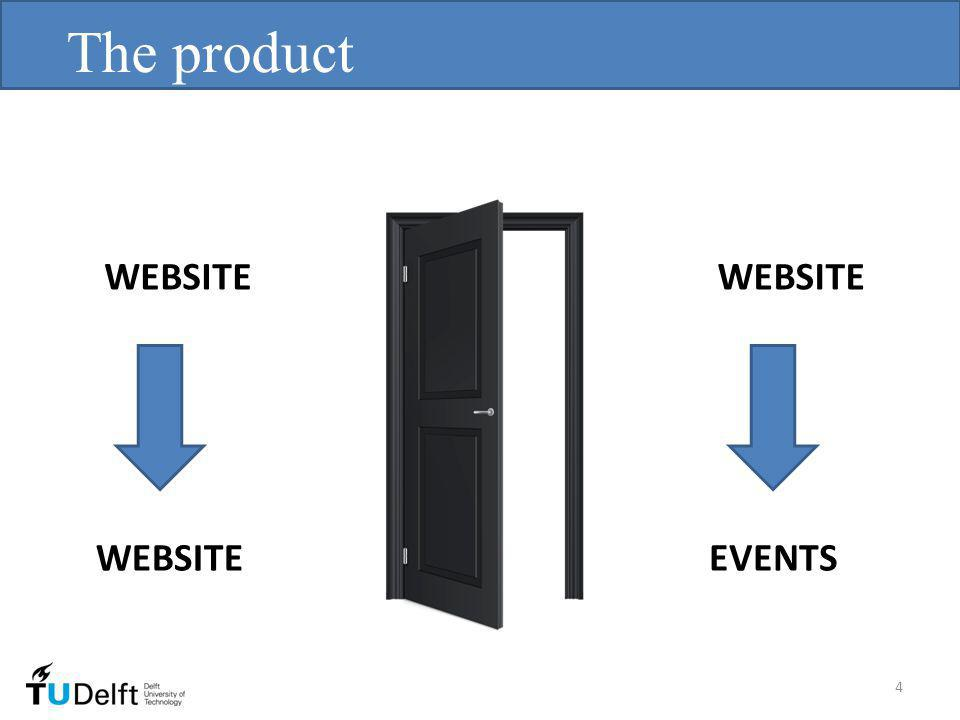The product EVENTS WEBSITE 4