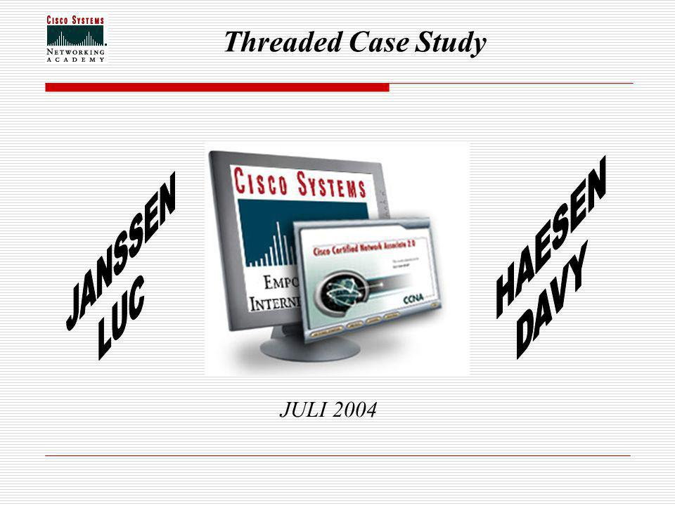 Threaded Case Study JULI 2004