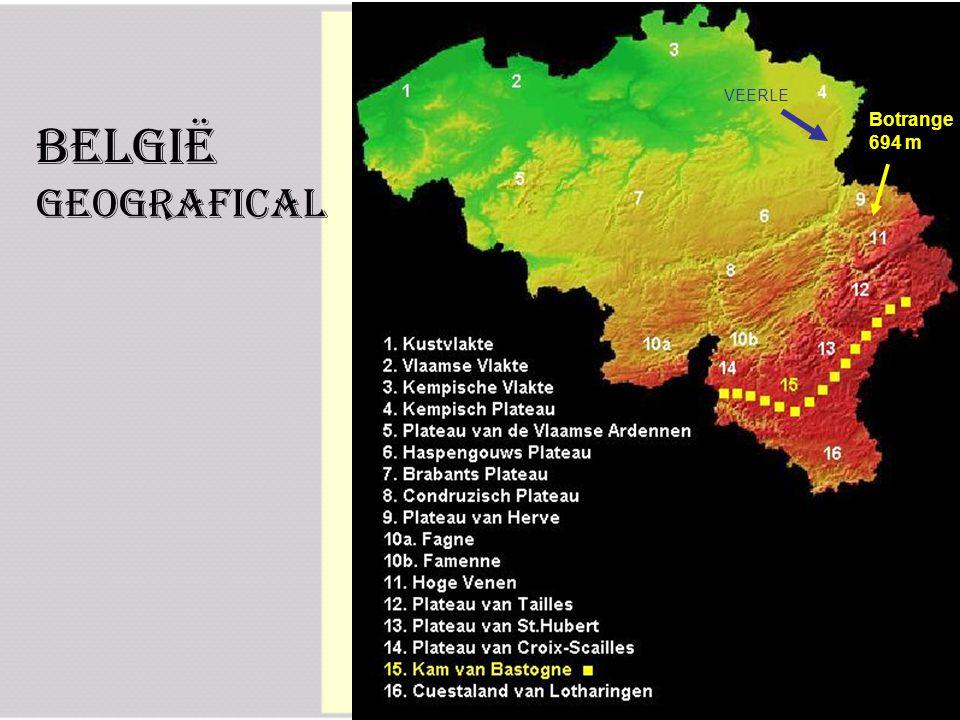 België Geografical Botrange 694 m VEERLE